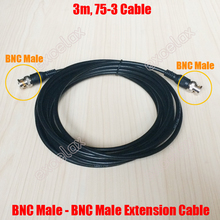 3m 9.8ft / 5m 16.4ft BNC Male to BNC Male Video 75-3 Coaxial Extension Cable 3 5 Meter Jumper for CCTV Video Surveillance Use(China)