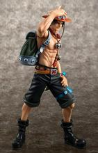 anime one piece handsome ACE Variable Action model doll pvc action figure classic collection toy(China)