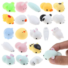 1Pcs Cute Animal Squeeze Toy Anti Stress Face Reliever Gift Toys For Children Adult(China)