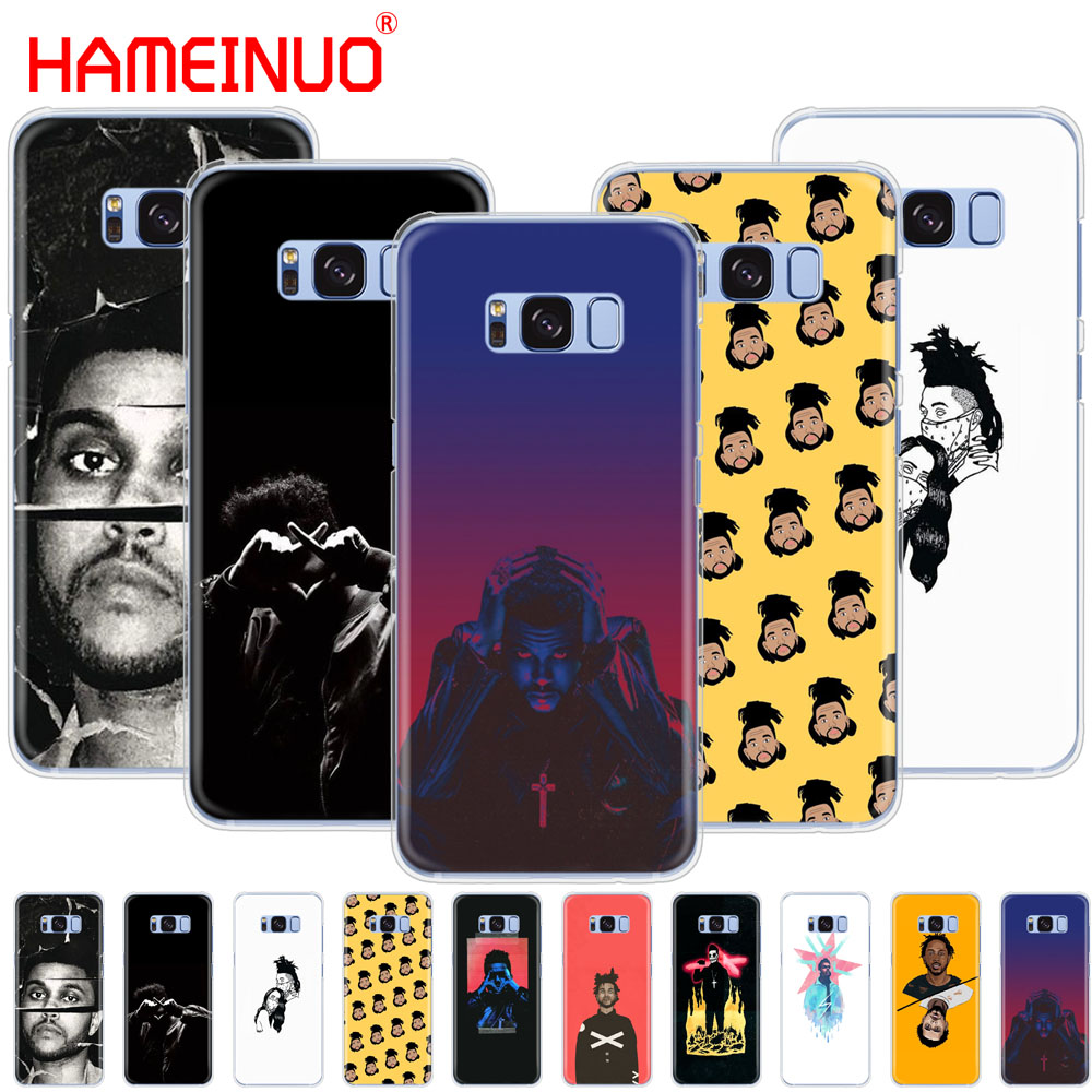 HAMEINUO The Weeknd starboy чехол для сотового телефона Samsung Galaxy S9 S7 edge PLUS S8 S6 S5 S4 S3 MINI|Бамперы| |