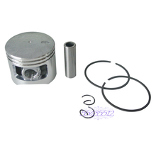 NEW 45mm Piston 11mm Pin W/ Rings Kit Fit Chinese Chainsaw 5200 52cc Tarus Sanli