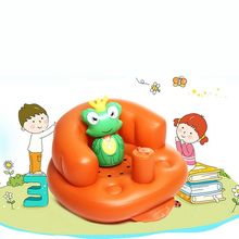 portable inflatable baby bath fauteuil children's seat armchair folding table mifold child desk chair sofa for kids european red(China)