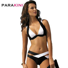 PARAKINI Sexy Bikinis Women Swimsuit 2019 Summer Beach Wear Bikini Set Push Up Bandage Swimwear Plus