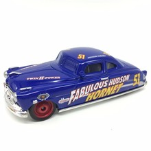 About 9cm Cars 2 Diecast Doc Fabulous Hudson Hornet Metal Toy Car For Children 1:55 New Collection Model