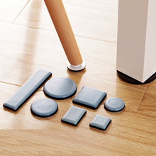 One Set Navy Magic Mover Moving Sliders Pads Table Furniture Gliders Carpet Flooring Coaster(China)