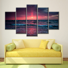 Unframed 5PCS Modern Painting Home Decora Art Picture Paint On Canvas printings One Fascinating Magic