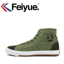 Keyconcept 2016 shoes Feiyue Arrival Unisex Lace-up Low-heeled High Spring autumn Rubber Canvas Fashion Sneakers