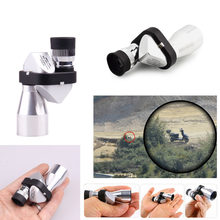 Mini Pocket 8x20HD Corner Optical Monocular Telescope Microscope Eyepiece Outdoor Hiking Climbing Wilderness Expedition(China)