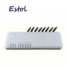 Wholesale 8 Channels DBL GOIP8 GSM Gateway GSM VOIP gateway for termination, Support VPN & IMEI change&SMS 8 sim cards channel