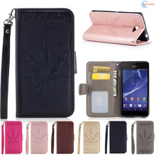 Buy Flip Case Sony Xperia m2 aqua D2302 D2303 Phone Leather Cover protector Case Sony Xperia m 2 dual M2aqua D 2302 2303 Box for $4.69 in AliExpress store