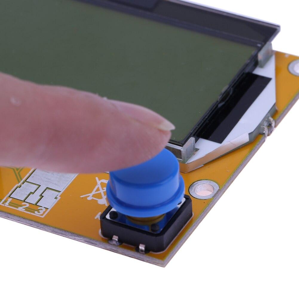 2X LCR T4 ESR Combo Digital Transistor Tester Diode Triode Capacitance indutor resistor MOS/PNP/NPN + Teste clipe 14