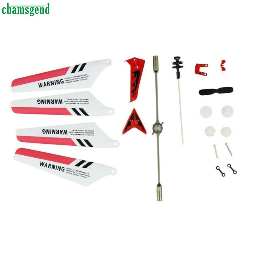 Modern New Full Set Replacement Spare Parts for S107 RC Helicopter Red Jan12<br><br>Aliexpress