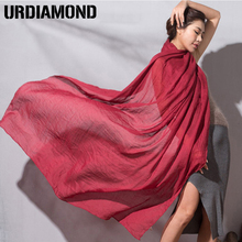 New Fashion  Women Scarf Linen Shawl and Scaves Bufandas Mujer Cachecol Feminino Buautiful Foulard Women Wraps Silk Scarf