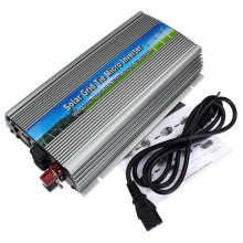 MPPT 1000W 18V Micro Inverter Grid Tie Inverter Solar Power Inverter 1000W 10.5-28V DC to 90-260V AC 1KW Pure Sine Wave Inverter