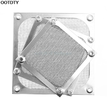 Metal Dustproof Mesh Dust Filter Net Guard 12/9/8cm For Computer Case Cooler Fan #L059# new hot