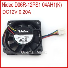 Free Shipping Nidec D06R-12PS1 04AH1(K) DC12V 0.20A For Cooler Master Cooler Cooling Fan(China)