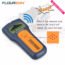 Floureon 3 In 1 Stud Finder Wire Metal Wood Detectors Find AC Voltage Live Wire Detect Wall Scanner Behind Wall With LCD Display(China)