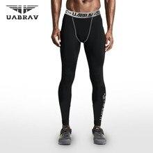 Hombres Compression Bases capa Leggings deportes Mallas para correr gimnasio  flaco fitness Baloncesto fútbol Pantalones de fútbo. a396930b6ee03