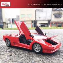 Classic Sports Car Costanga Die Cast Model Vehicle Maisto 1:24 Scale Model Toys for Christmas Gift