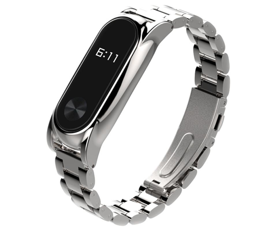 Original Stainless Steel Metal Plus Fitbit Free tool Xiaomi miband 2 Smart Bracelet Replacement Fitness Tracker mi Accessories 6