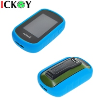 Outdoor Hiking Handheld GPS Protect Sky Blue Silicon Rubber Case Skin for Garmin eTrex Touch 25 35 35T  Accessories