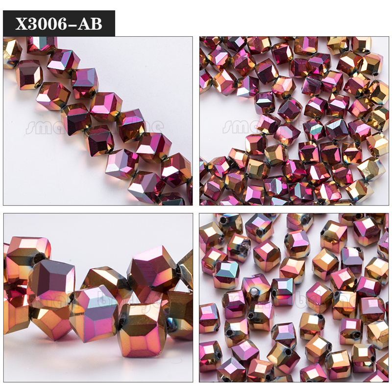 Square Glass Beads (7)