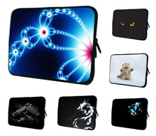 "Stylish Waterproof 10"" Notebook Bag Cases For Toshiba Excite 9.7"" 10.1"" 10.2"" Netbook Laptop Tablet Universal Soft Neoprene Bag"