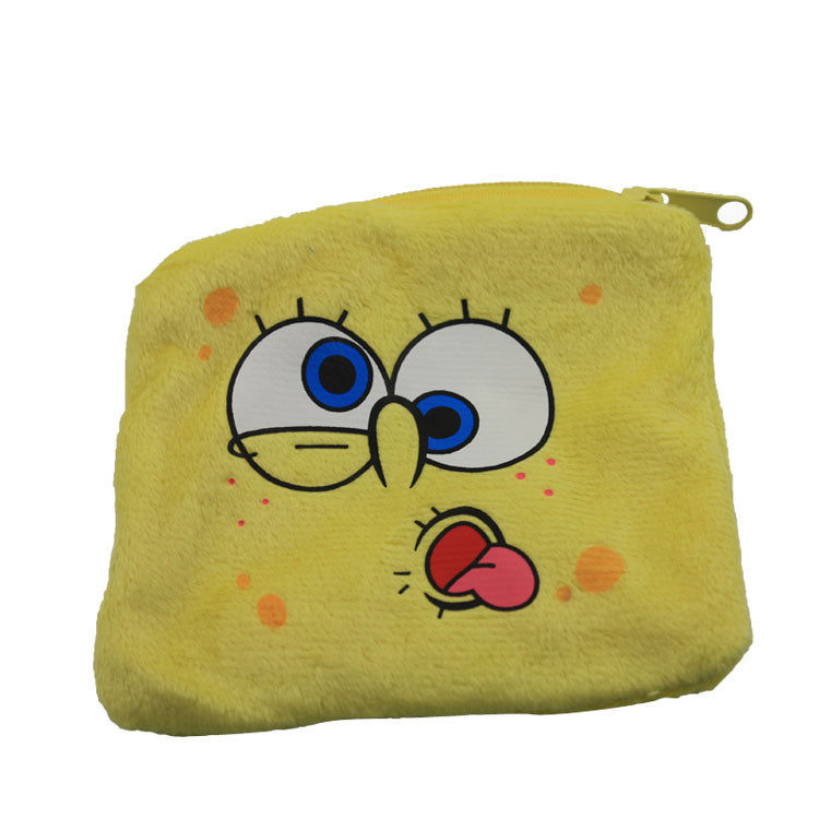 Bob FIGURE PLUSH FACE PURSE STUFFED ANIMA(China)