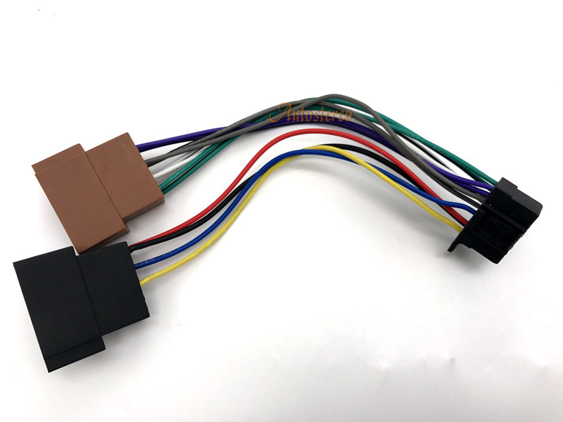 Autostereo ISO female HARNESS font b CAR b font AUDIO INSTALLATION for SONY 2013 16 pin online buy wholesale car stereo wire from china car stereo wire sony 16 pin wire stereo plug harness at readyjetset.co