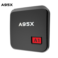 New A95X A1 TV Box Android 6.0 S905X Processor Quad Core 1G RAM 8G ROM TV Box Wifi HD Mini Media Player Top Box PK X96 Players