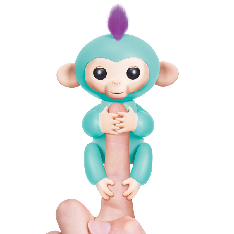 2017 New Fingerlings Interactive Baby Monkeys Toy Smart Colorful Fingers Llings Smart Induction Toys Christmas Gift Toy For Kids 8