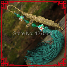 Ethnic jewelry  long tassel vintage hair accessories antique brass hair jewelry, traditional vinatge cloisonne hair pin
