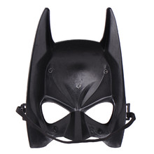 Halloween Face Mask Black Cartoon Batman Masquerade Party Masks Cosplay Mask Costume Supplies(China)