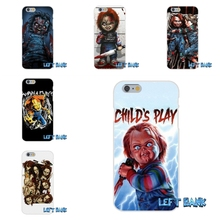 For Samsung Galaxy Note 3 4 5 S4 S5 MINI S6 S7 edge Charles Lee Ray Chucky Doll Soft Silicone TPU Transparent Cover Case(China)