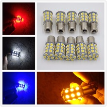 CYAN SOIL BAY LED Car Brake Bulb 1156 Ba15s P21W 27SMD 27 SMD 5050 Backup Turn Signal Tail Light Red Amber Yellow White Blue 24V(China)