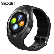 "Buy 1.54"" Bluetooth Smart Watch Android IOS 2G smart phone watch Support TF/SIM card fitness watch Pedometer Message push smartwatch for $14.97 in AliExpress store"