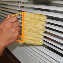 1pc Microfibre Venetian Blind Brush Window Air Conditioner Duster Clean Cleaner(China)