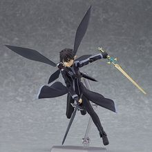 Anime Sword Art Online 2 Kirigaya Kazuto Kirito Figma 15CM ALOVER 289 Pvc Action Figure Figurine Collection Model Kids Toys Doll