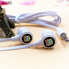 MLLSE Anime HITMAN REBORN Logo In-ear Earphones 3.5mm Wired Stereo Earbuds Phone Music Game Headset for Iphone Samsung MP3 MP4