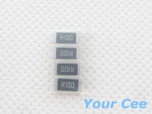 50 pcs 2512 SMD Resistor 1W 0.1R 1% Chip Resistor 0.1 ohm R100(China)