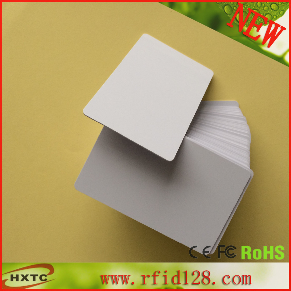 20PCS/lot 13.56MHz  RFID 1k S50  Blank  PVC Card  ISO14443A Smart IC Card Fudan Chips For ACR122U NFC Read Writer<br><br>Aliexpress