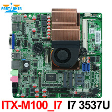 ITX-M100_ I7 Thin client mainboard All In One Motherboard Intel i3 i5 i7 motherboard Industrial Grade ITX Mainboard(China)