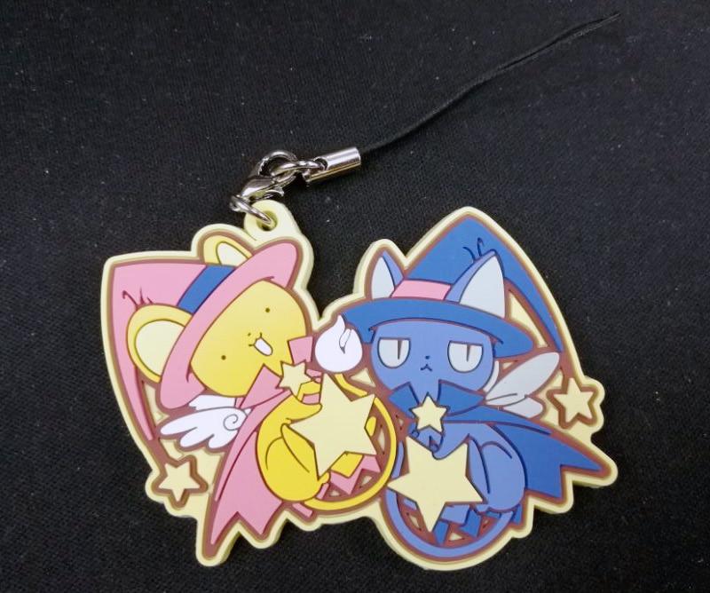Card Captor Sakura Spinel Sun and Kero clutch bag with strap