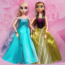 NK Two Set Princess Doll  Outfit Movie Similar Dress Fairy Tale Wedding Dress For Barbie Doll Best Girls' Gift