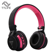 TTLIFE Upgraded Bluetooth Headphone Hifi Smart Switch Sports Wireless Headsets Hands Free Mic Earphone