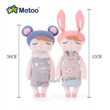 43cm/36cm Metoo dream Angela restoring ancient ways with sleep baby doll plush toy young Children's day Christmas a birthday gif(China)