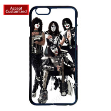 Kiss Band Phone Shell Housing Case Cover for LG G2 G3 G4 iPhone 4 4S 5 5S 5C 6 6S 7 Plus iPod Touch 4 5 6