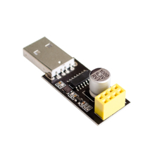 CH340 USB to ESP8266 ESP-01 Wifi Module Adapter Computer Phone Wireless Communication Microcontroller for Arduino(China)