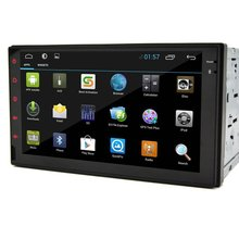 Pure Android 4.2 7'' Tablet Double 2 Din Car PC Stereo In-Dash Radio Car None-DVD MP3 Video Player iPod Bluetooth