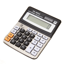 Hot Sale Portable Office Commercial Tool Built-in Button Batteries Powered 8 Digit Electronic Calculator with Big Button